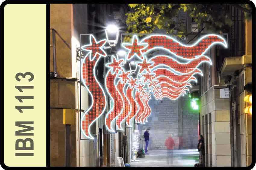 Toile et queue rouge - Illumination de noel pas cher ...